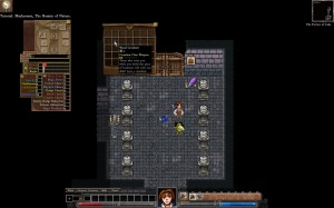 Dungeons of Dredmor beta screenshot surrounded by monsters