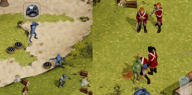 Common scenes from players' Early Access experience.