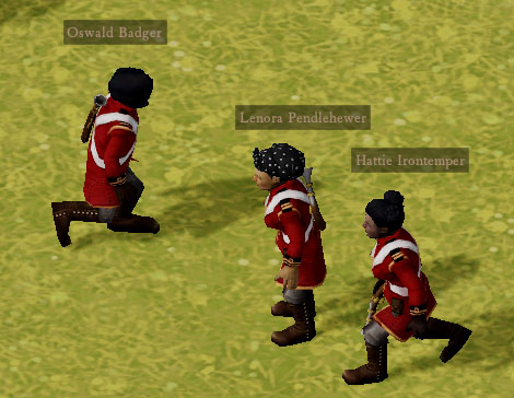 A properly trained squad ready to defend the colony.